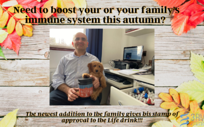 Need to boost your and your family's immune system this Autumn?